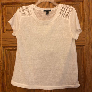 Forever 21 Short Sleeve Top, Medium